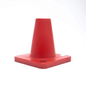 Pylon, schwere Ausführung, rot, 15cm hoch