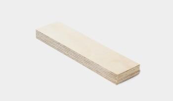 Fährtengegenstand Holz (Birke)