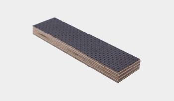 Fährtengegenstand Holz (beschichtet)