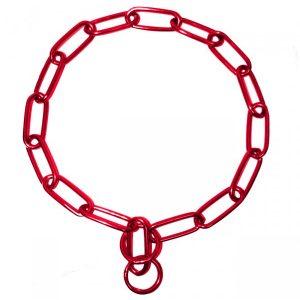 Kettenhalsband - Rot