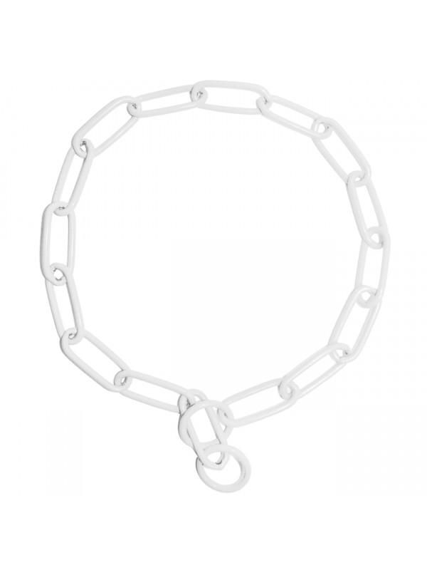 Kettenhalsband - Weiß 60cm